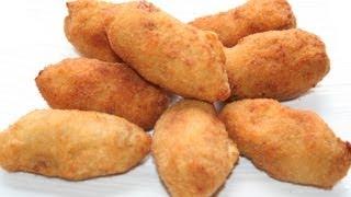 getlinkyoutube.com-Croquetas de pollo (adaptando la receta sirve para CELÍACOS e INTOLERANTES A LA LACTOSA)