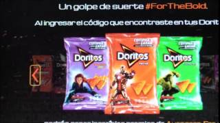 Registrando Codigo de Doritos Para Ganar Premios de Avengers La Era de Ultrón