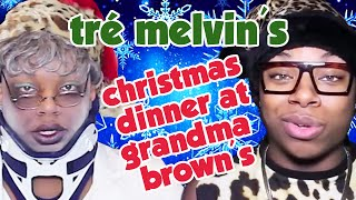 "getlinkyoutube.com-Tré Melvin's ""Christmas Dinner at Grandma Brown's"" ThisIsACommentary + ADD Collab!"