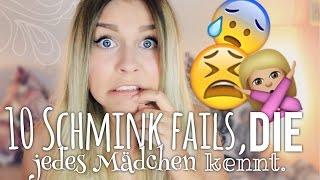 getlinkyoutube.com-10 SCHMINK FAILS, die jedes Mädchen kennt ! (+ Tipps) | Dagi Bee
