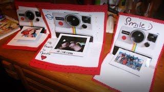getlinkyoutube.com-Carta Para Novio Fotógrafos | Tarjeta Camara Polaroid + Como Hacer Foto Tipo Polaroid SHELSORADO