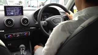 getlinkyoutube.com-新型Audi A3をいち早く試乗してみました【軽く街乗り】