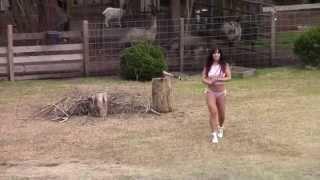 getlinkyoutube.com-A new axe for Farm Girl!