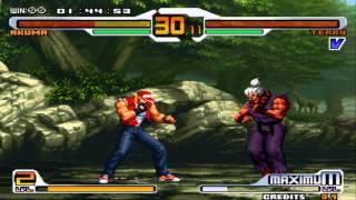 getlinkyoutube.com-Shin Akuma vs Terry gameplay