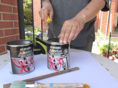 Come pitturare un oggetto metallico fai da te mania - Verniciare le finestre ...