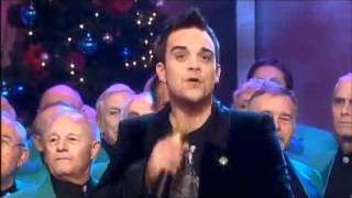 getlinkyoutube.com-Robbie Williams sings White Christmas with Ant & Dec