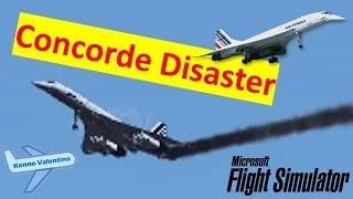 getlinkyoutube.com-Air France Concorde 4590 Crash (Remake)