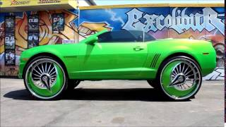 "getlinkyoutube.com-- 2012 Chevy Camaro On 32"" DUB Azzmackas | #StuntNationDVD"