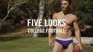 getlinkyoutube.com-College Football 2016 | Five Looks For College Playoffs | Mens Fashion in Underwear