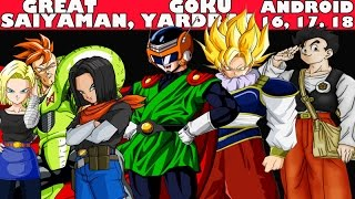 getlinkyoutube.com-Dragon Ball Xenoverse - How to get Great Saiyaman, Goku Yardrat, Android 16, 17 & 18's Clothes!