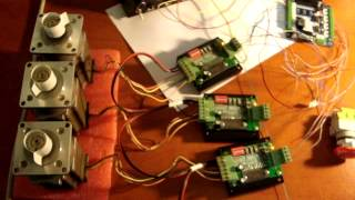 getlinkyoutube.com-5 Axis Breakout Board CNC - Driver 3,5A TB6560 Mpp Mach3