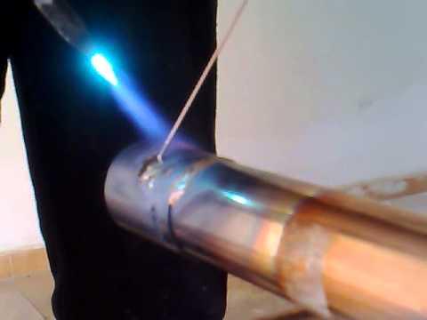 Come saldare due tubi di rame fai da te mania for Tipi di tubi di rame