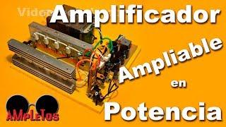 getlinkyoutube.com-Amplificador de 300W ampliable en potencia hasta 1500W