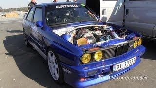 getlinkyoutube.com-1100HP BMW M3 E30 with Toyota Supra Engine!!