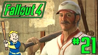 [21] Baseball Legends! (Fallout 4 Playthrough PC - Survival Difficulty)