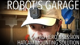 getlinkyoutube.com-GoPro Hero4 Session Custom Hatcam Mount for Shooting