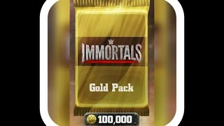 getlinkyoutube.com-WWE-immortals 30 gold packs opening#2 !!