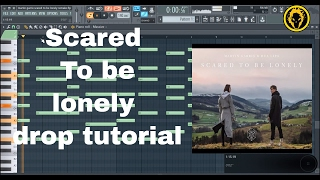 Martin Garrix - Scared To Be Lonely (Original Mix) |DROP LIVE  TUTORIAL IN 6 MINS|(fl studio remake)