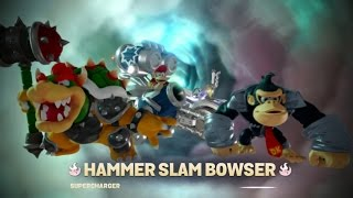 getlinkyoutube.com-Skylanders Superchargers (Wii U) Walkthrough Part 1 - Bowser & Donkey Kong (2 Player)