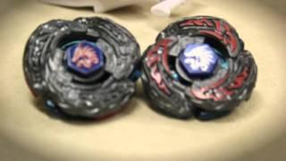 getlinkyoutube.com-EPIC BATTLE: LDrago Destructor LW105LF VS. LDrago Destroy F:S - [Attack Mode] TT VS Hasbro?!?!