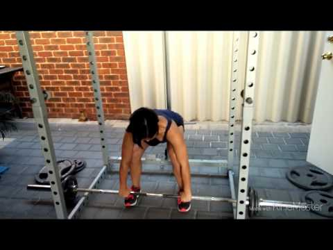 Jasmine Ang strength lifting 5 x 5