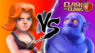 getlinkyoutube.com-MAX BOWLER'S vs MAX VALKYRIE'S! | Clash Of Clans New Updated Max Levels 2016!
