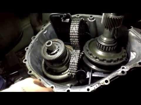 Разборка №1. Вариатор CVT от Audi.