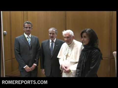 Pope welcomes Nasser Judeh  Jordanian Minister of Foreing Affairs