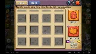 getlinkyoutube.com-Clash Of Lords 2 Win a Enchantress by hiring 10x Heroes 60 times! part 2