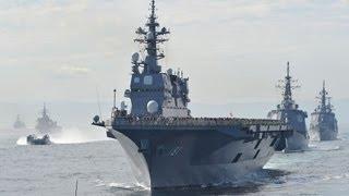 第27回自衛隊観艦式=最新鋭護衛艦「あきづき」が初参加