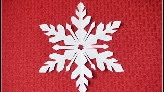 getlinkyoutube.com-Paper Snowflake 2- Detailed tutorial-  intermediate level - Can YOU do it?
