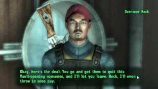 getlinkyoutube.com-Fallout 3 - Meeting and Killing Overseer Allen Mack