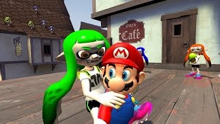 getlinkyoutube.com-[Mariopalooza Collab] Mario gets disturbed by Inklings