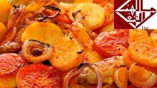 صينية بطاطس بالدجاج Chicken & potato tajin