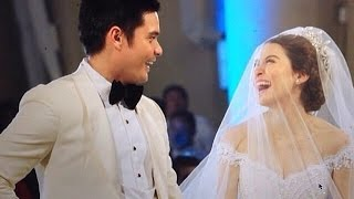 Marian Dingdong Wedding VIDEO - Wedding Kiss