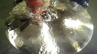 "getlinkyoutube.com-*SOLD*Zildjian RARITIES K Dark Thin Ride 22"" - 2652 grams"