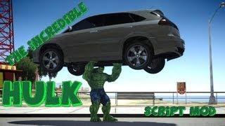 getlinkyoutube.com-GTA IV The Incredible Hulk Script Mod