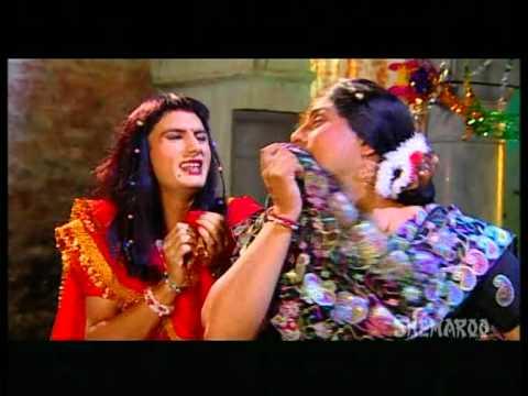 Gurchet Chittarkar Best Comedy Scenes - Men Dress Up As Women - Family Khusreyan Di