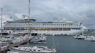 getlinkyoutube.com-Bermuda Cruise Ship Crash