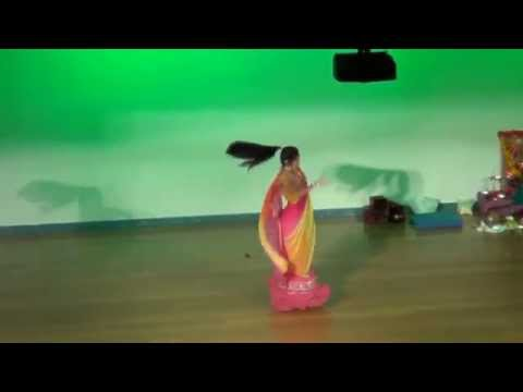 Rachana Performing Dhol Bhaje from Raam Leela at Ugadi Utsavam at Melbourne Telanga Program