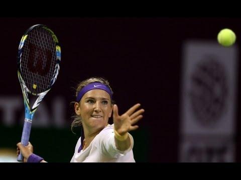 2013 Qatar Total Open Day 4 WTA Highlights