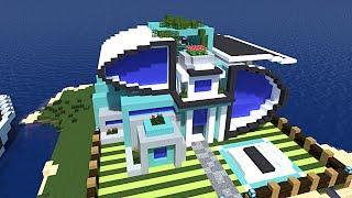 getlinkyoutube.com-Minecraft maisons des abonnés ! :) merci à redkap01, Baobab et Areaz !