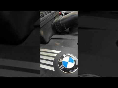Работа помпы в процессе прокачки BMW x5 e70