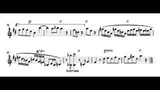 "getlinkyoutube.com-Michael Brecker: ""Song for Bilbao"" [TRANSCRIPTION]"