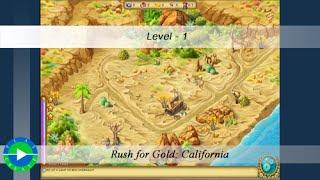 getlinkyoutube.com-Rush for Gold: California walkthrough - Level 1
