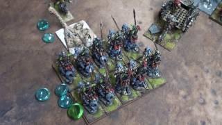 Kings of War Battle Report Goblins VS Empire of Dust 1325pts