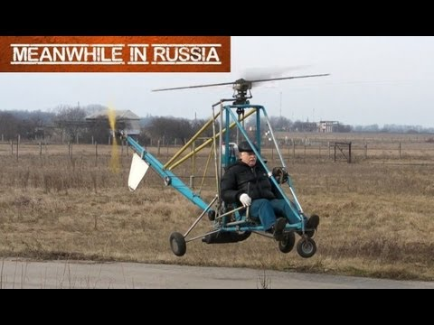 Russian Homemade Helicopter