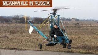 getlinkyoutube.com-Russian Homemade Helicopter
