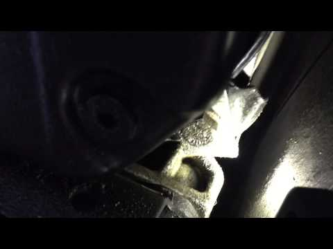 Mercedes C lower control bushing part 1