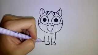 getlinkyoutube.com-สอนวาดการ์ตูน แมวจี้ บ้านนี้ต้องมีเหมียว Chi s Sweet Home